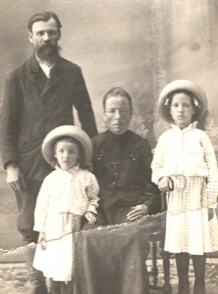 Елена и Андрей Одеговы - Елена и Андрей Одеговы 1917.jpg